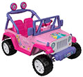 Disney Princess Jeep Wrangler