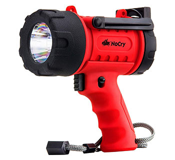 NoCry NC10001 18W Waterproof Flashlight (Spotlight)
